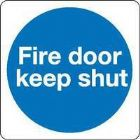 Fire Door Keep Shut 100X100Mm S/A Km14As (Pack of 5)